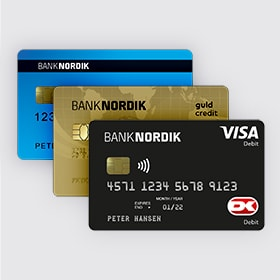 Dankort, Visa/Dankort eller Mastercard? Find det rigtige kort | BankNordik DK