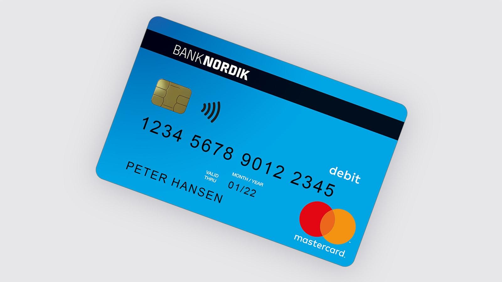 Med et Mastercard Debit har du styr på dit forbrug | BankNordik DK