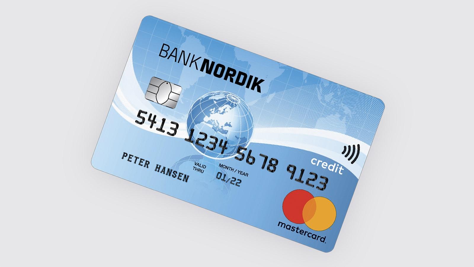 Mastercard Standard | BankNordik DK
